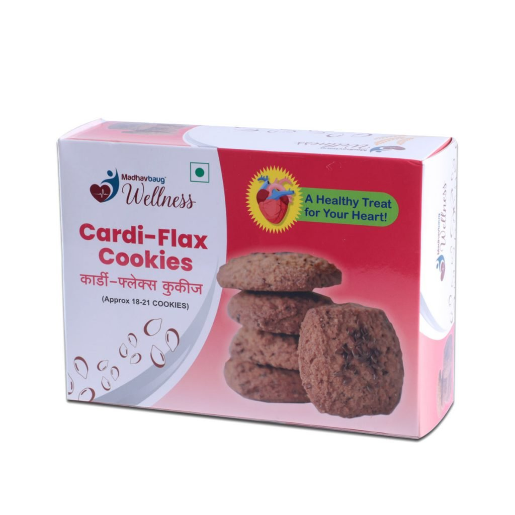 Madhavbaug Wellness Cardi Flax Cookies