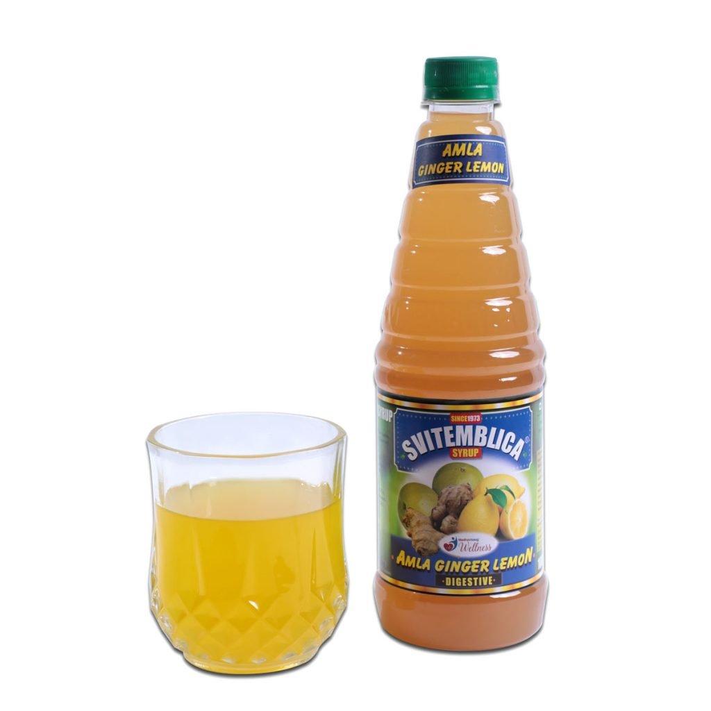 SVITEMBLICA Amla Giner Lemon Syrup