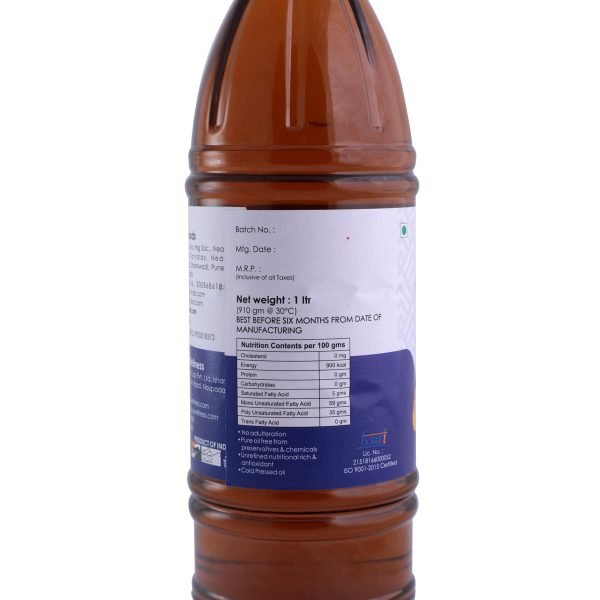 Mother Touch Mustard Oil Back