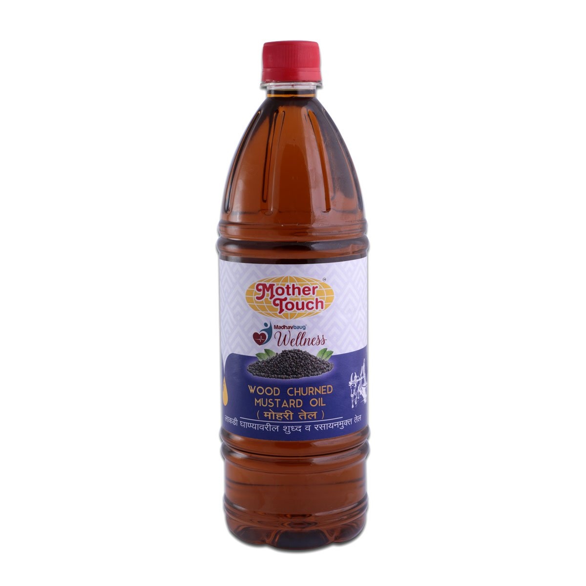 Mother Touch Mustard Oil Front