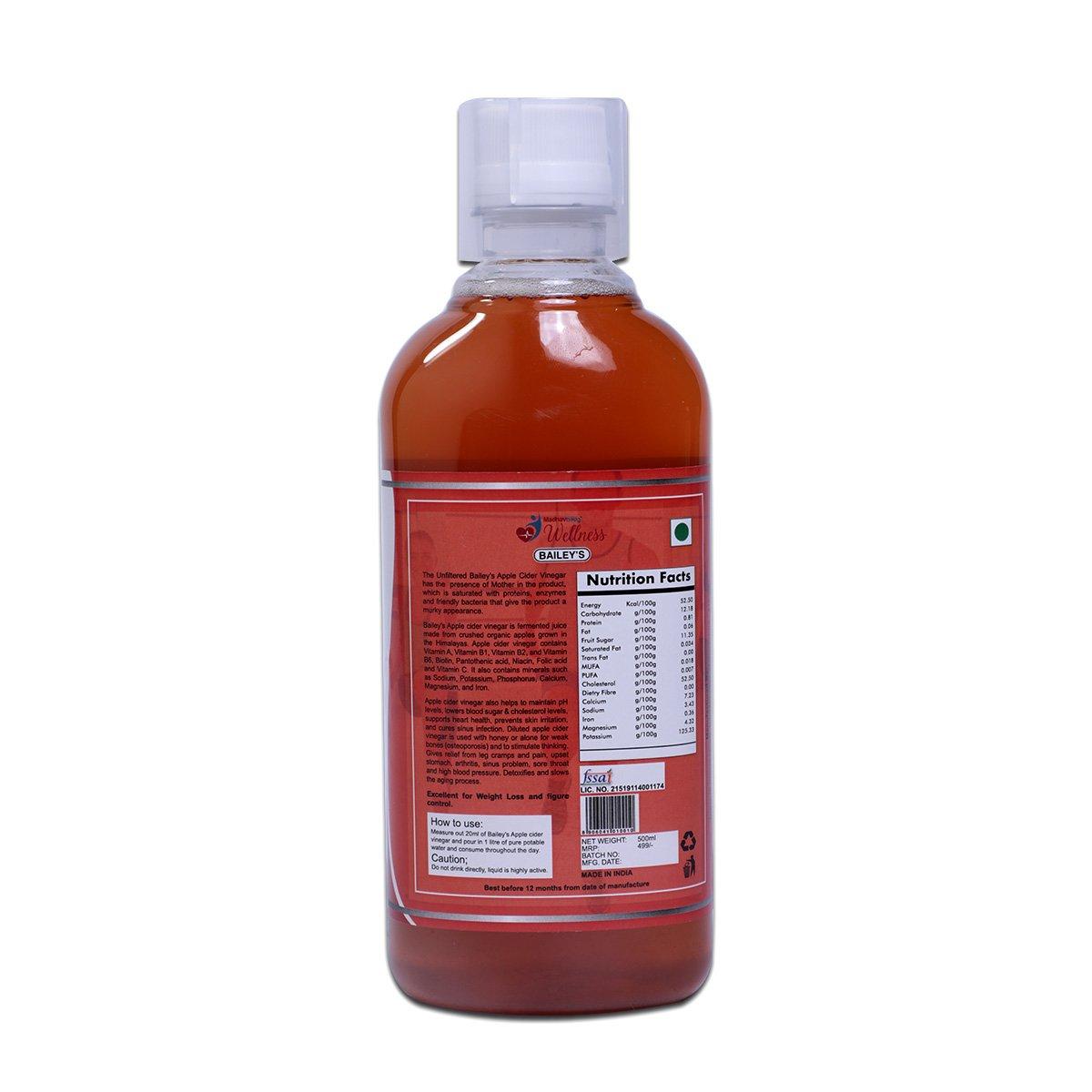 Bailey's Apple Cider Vinegar Back