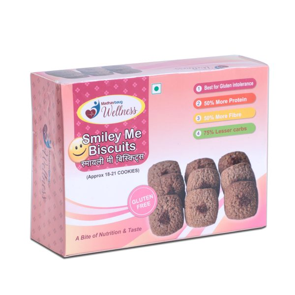 Madhavbaug Wellness Smile Me Biscuits