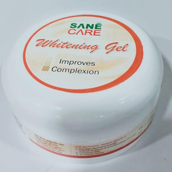 Sane Care Whitining Gel Side