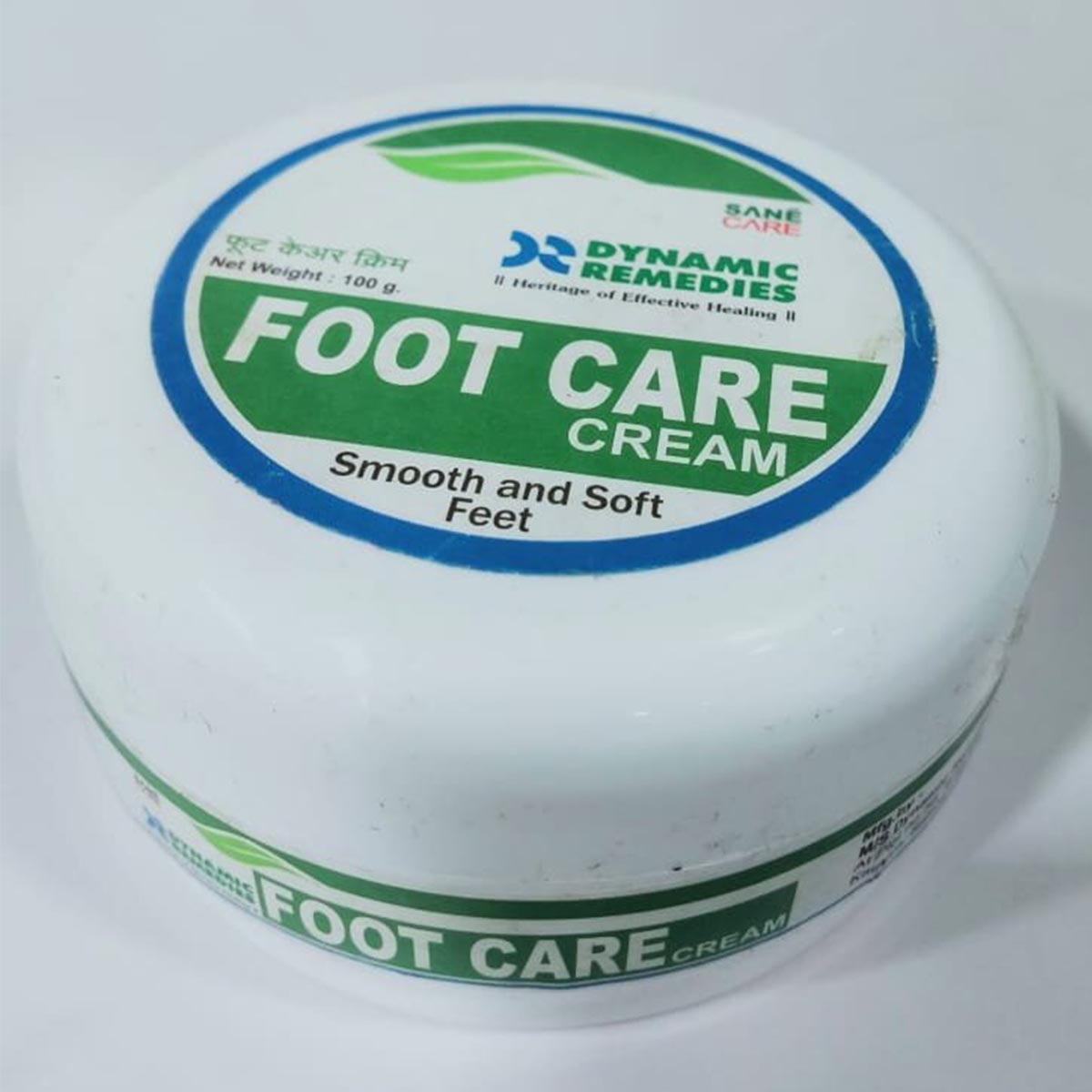foot cream side
