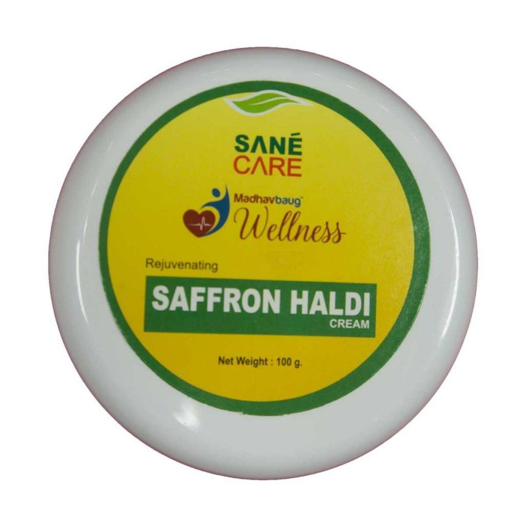 Sane Care Saffron Haldi Cream