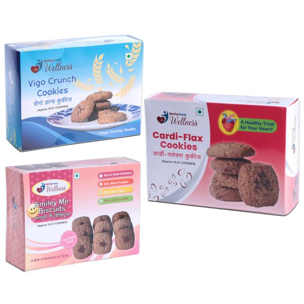 Madhavbaug Wellness Cookies Combo Pack
