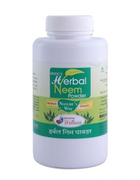 Mofic's Herbal Neem Powder Front