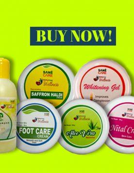 Sane Care Skin Care kit
